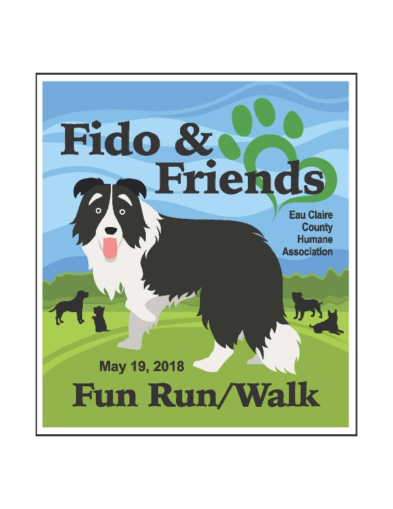 Fido & Friends Fun Run/Walk Logo